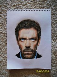 House MD Colored Pencil by TattooSavage