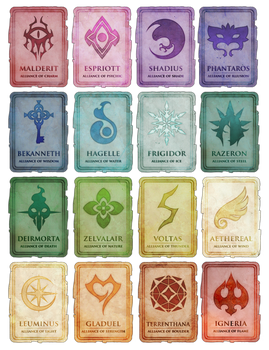 Journal of Patraimoure | The Factions by lBlacKiE-MaiDeNl