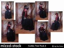 Gothic Noir Pack 4 by mizzd-stock