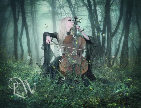 Music in the Forest by EnchantedWhispersArt