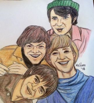 The Monkees by redsonya131313
