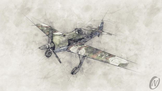 Fw 190 A8 by NikiballOne