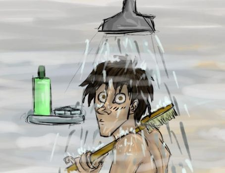 James in the Shower... by Alatariel-Amandil