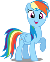 Vector #63 - Rainbow Dash #11 by DashieSparkle