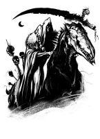 Charon On Horse by ScottPurdy