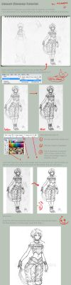 Lineart Clean Up Tutorial by MeganeRid