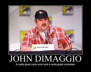 motivation John DiMaggio by becaveach21