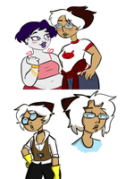 daph sketches (plus some copy cat) by criaha