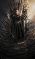 Iron Throne by Allmanette