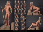 Stock: Montana 20 Fantasy Nudes by ArtReferenceSource