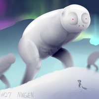 Ningen by eternalsaturn