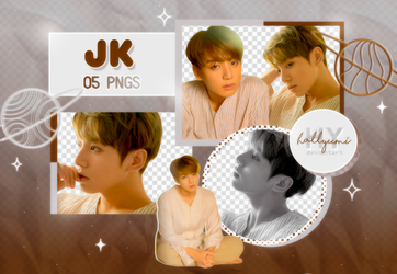 PNG PACK: JungKook #18 by Hallyumi