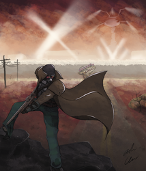 Fallout: New Vegas by AndrewChaconArt