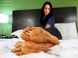 WWE Brie Bella Feet by WrestlingFeet