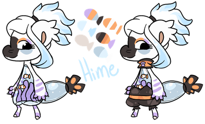 Hime Reference Sheet by PonOfGriffia