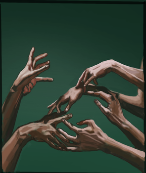 Hands Study by semih639
