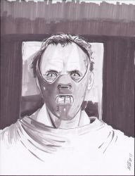 Hannibal Lecter by shinlyle