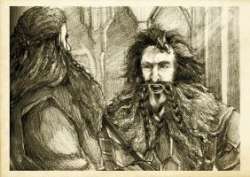 Discovering Mr Baggins - Bifur by Nazgullow