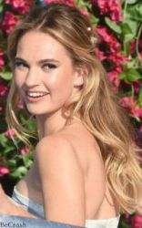 Lily James by BeCrash