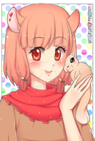 ~Momo the squirrel~ by candykiki