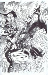 Aquaman 15 cover by INKIST