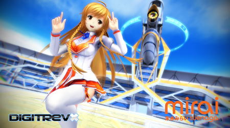 Mirai Suenaga Winter Uniform by Digitrevx