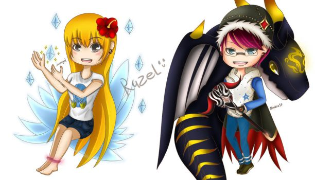 MapleStory Commission #1 by LilyFate