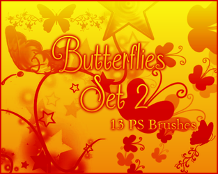 PS Butterflies Set 2 by Illyera