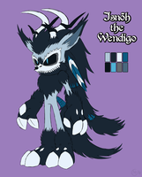 Isnoh the Wendigo [Reference] by Natakiro