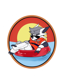 Life jacket squad by artwork-tee