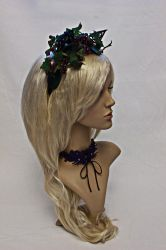 Cat Ears Headdress for Samhain by Gewandfantasien