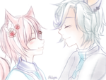 C: .:Comforting Smiles:. by Shiiyou
