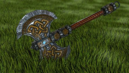 Dwarf Axe - 3Ds Max Beginners Turorial by 3DPad