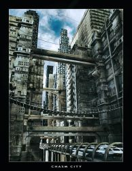 Chasm City by pixelpriester