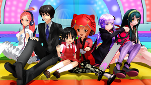 [MMD] AH-Software VOCALOID Family by iMACobra