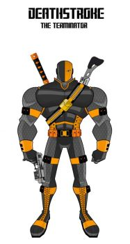 Deathstroke (Update Design) by Eye-of-Ra-X