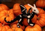 Needle Felted Skeledragon by HowManyDragons