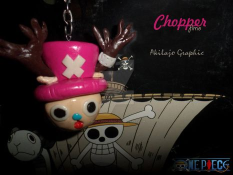 Porte Cle Chopper ( fimo ) by AkilajoGraphic
