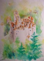 Bran Castle by milanglo