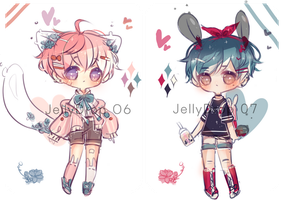 Cute and Edgy Adopts (closed) by qwerhellur