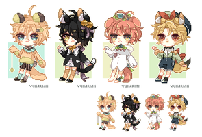 Pixel adoptable batch (Changed to SP - 2/4 open) by yukarink