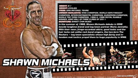WWE Shawn Michaels ID Wallpaper Widescreen by Timetravel6000v2
