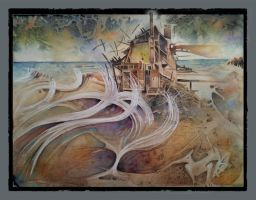 Strange Days_Dream House by the Sea by richardcgreen