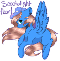 {C} Scootalight by Bubbles906