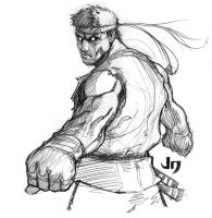 Evil Ryu by arsenalgearxx