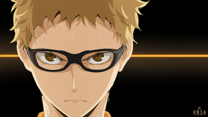 Tsukishima Kei from Haikyuu!! by KuroNekoIsAwesum