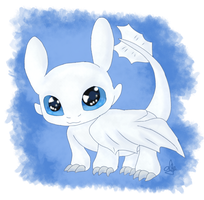 Lightfury chibi by JHEKSan2