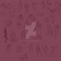 3-25-2017 Gestures Rib Cages by ZokuArts