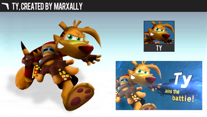 Ty the Tasmanian Tiger | Smashified by MarxallyHD