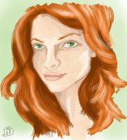 Lily Evans by FloraDelaney